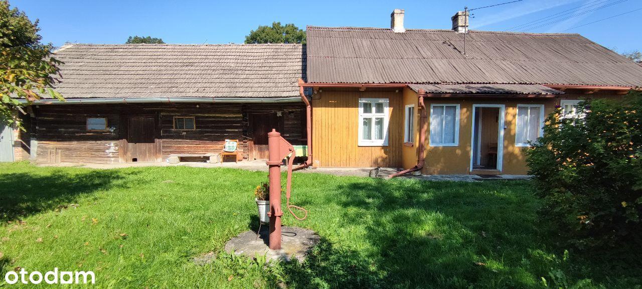 Dom drewniany + budynki gospodarcze dz.31 ar Pławo