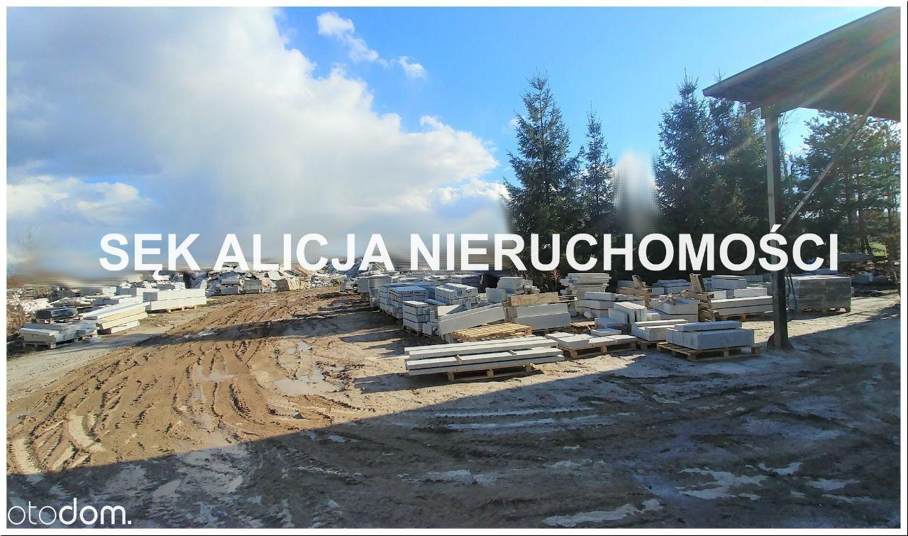 Zakład kamieniarski okolice Strzegomia