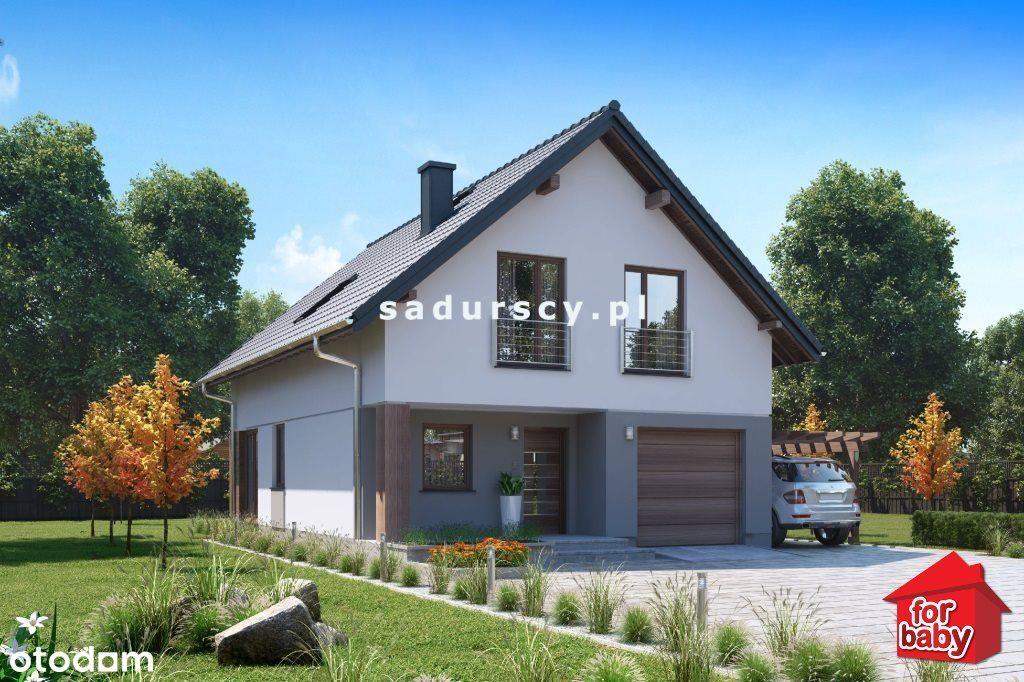 Dom wolnostojący 110 m2, Kocmyrzów-Luborzyca,