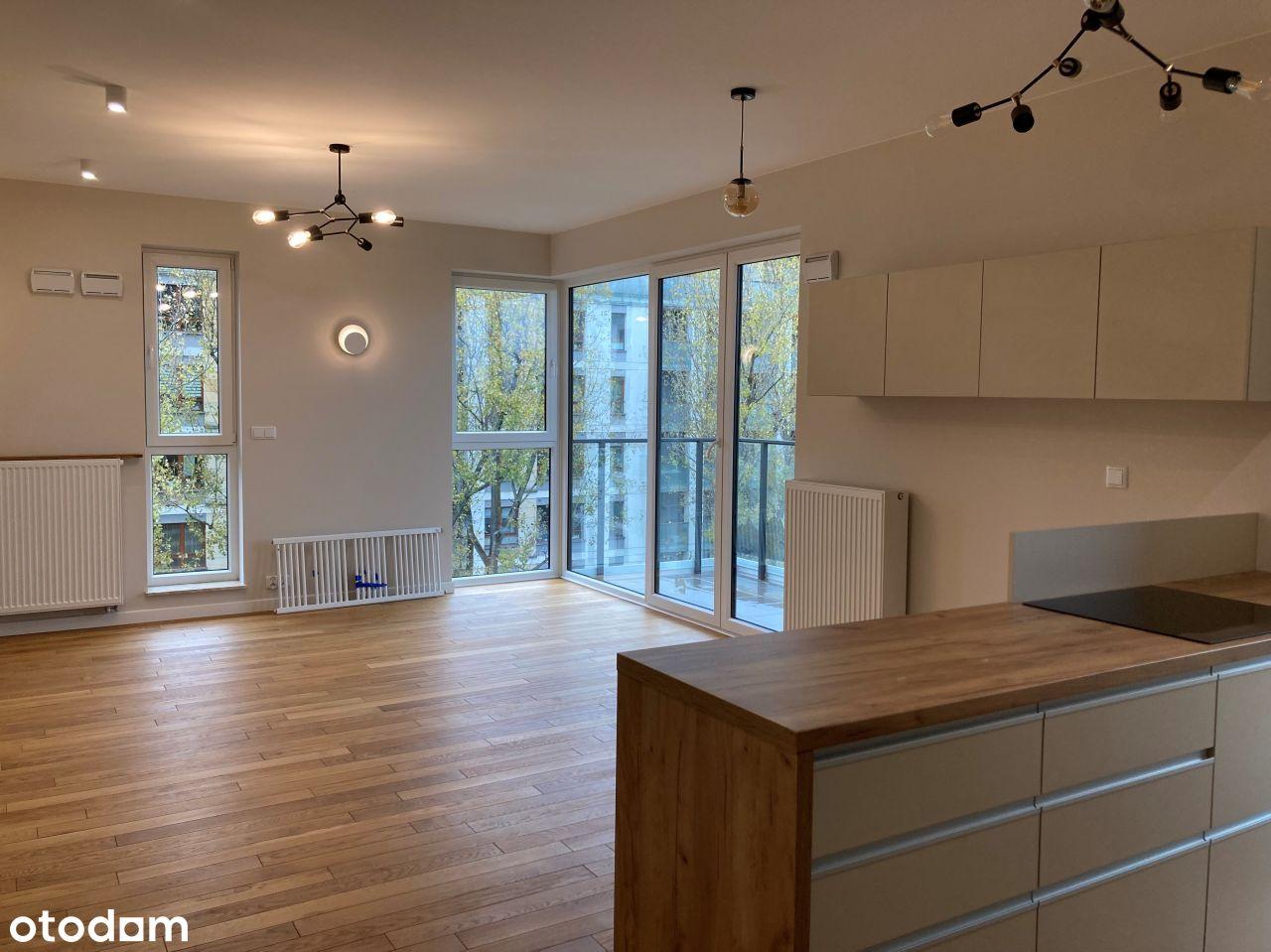 Piękne, świeżo wykończone mieszkanie 3 pokoje