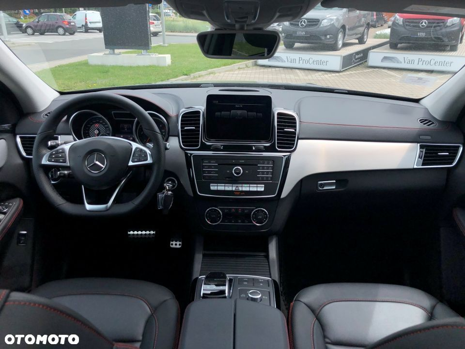 Mercedes-Benz GLE GLE350d 4MATIC Coupé, Pakiet AMG, Pojazd demonstracyjny dealera! - 6