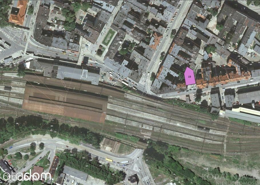 Działka inwestycyjna Centrum Bytomia 459 m2