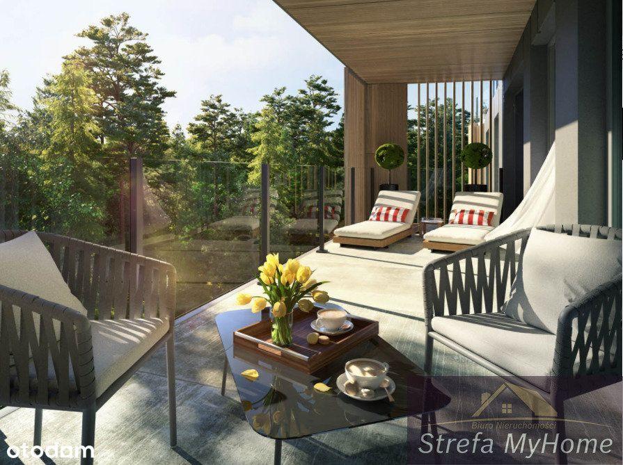 Apartament 3 pokojowy w sosnowym lesie