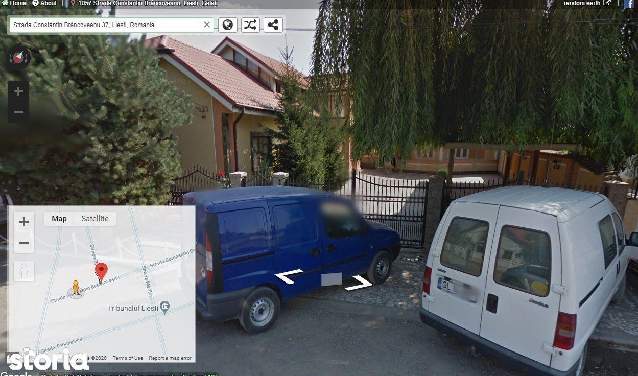 Casa P+1 cu teren aferent 1220 mp Liesti/licitatie publica 19 mai