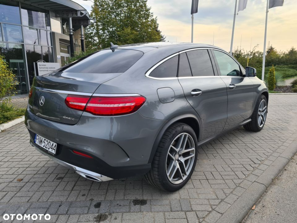 Mercedes-Benz GLE 350 d 4 Matic Coupe AMG salon Polska - 5
