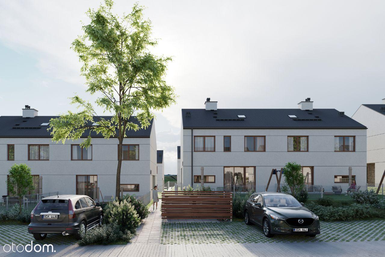Dom w zabudowie bliźniaczej w Kosakowie