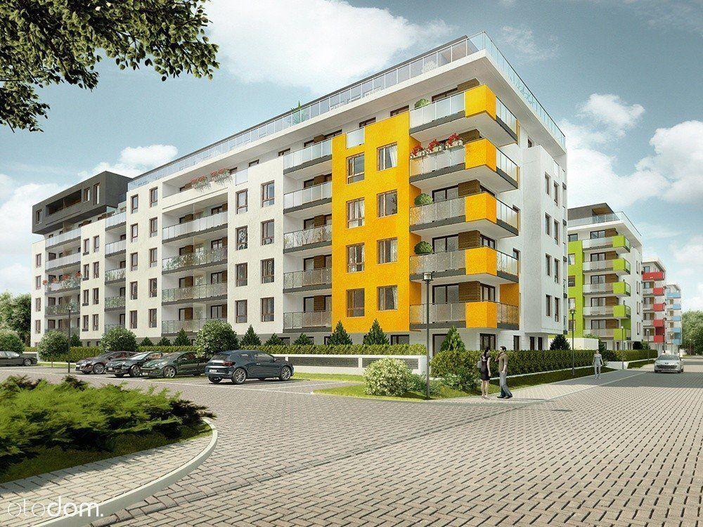 Przestronne mieszkanie z balkonem nowe budownictwo