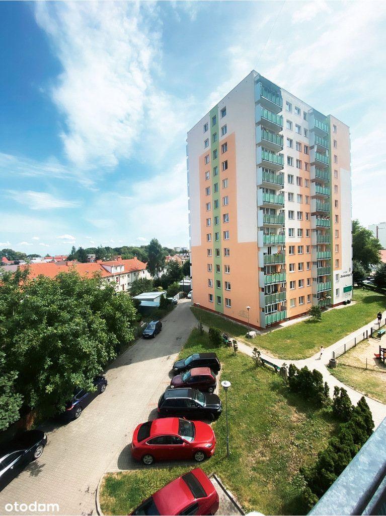 2 pokoje z balkonem z potencjałem