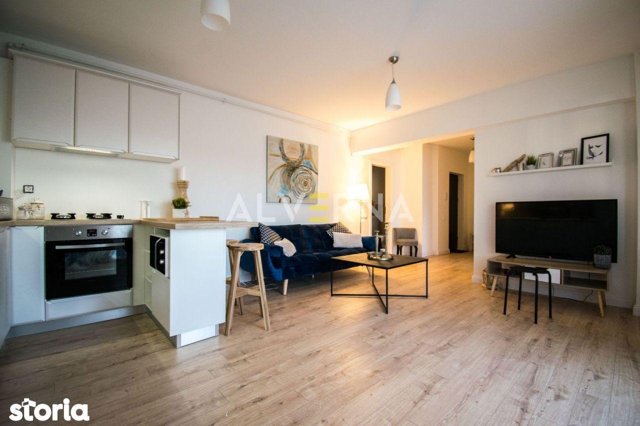 NOU!Apartament 2 camere, 52mp + terasa 28mp, finisaje moderne, Marasti
