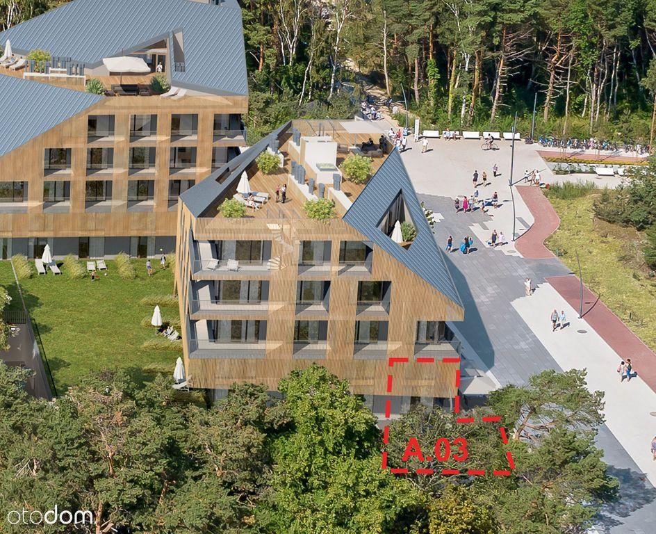 Apartament 4-pokojowy, pierwsza linia zabudowy