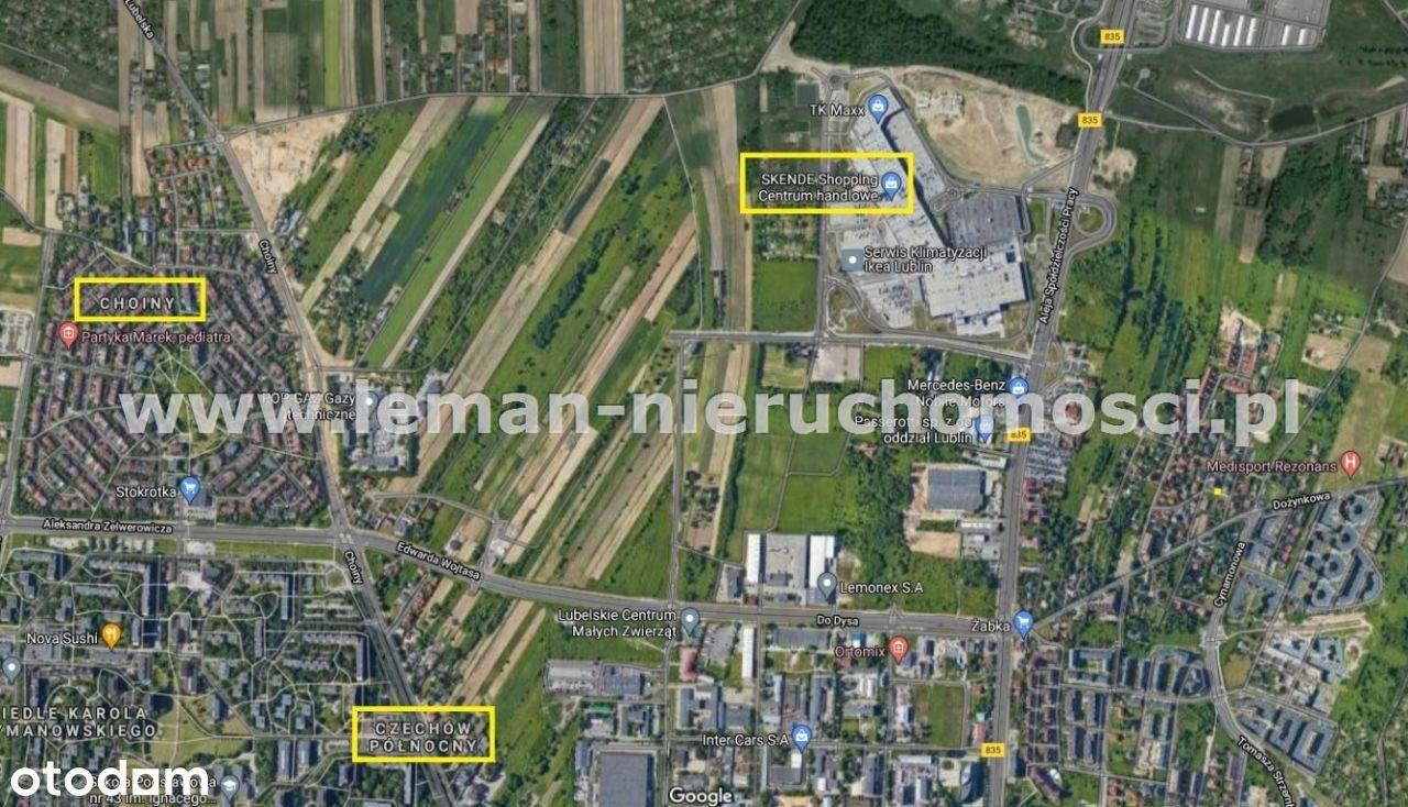 Działka, 3 500 m², Lublin