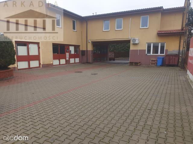 Obiekt usługowo-magazynowy w centrum Łomianek