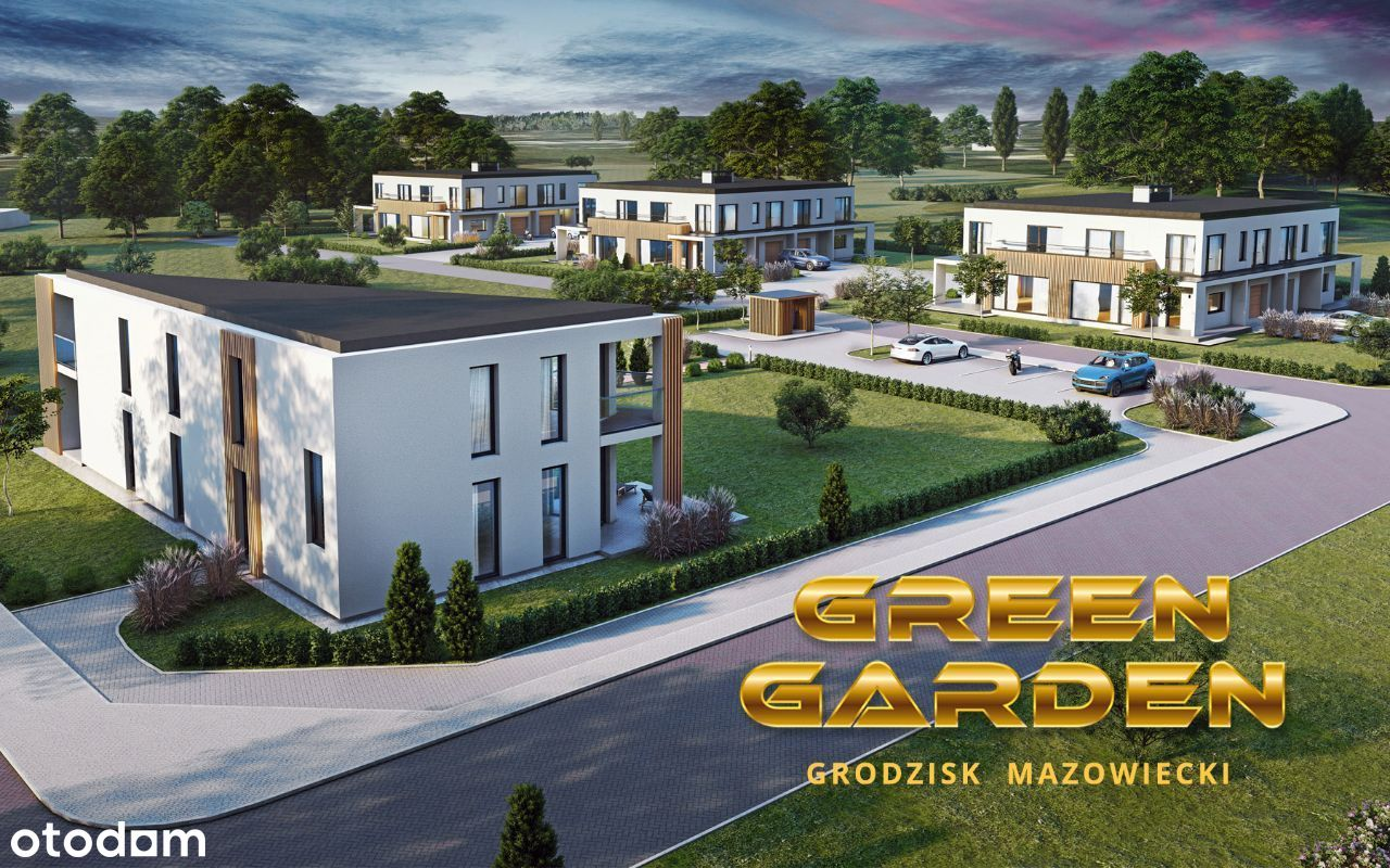"Nowoczesny segment - osiedle ""Green Garden""!"