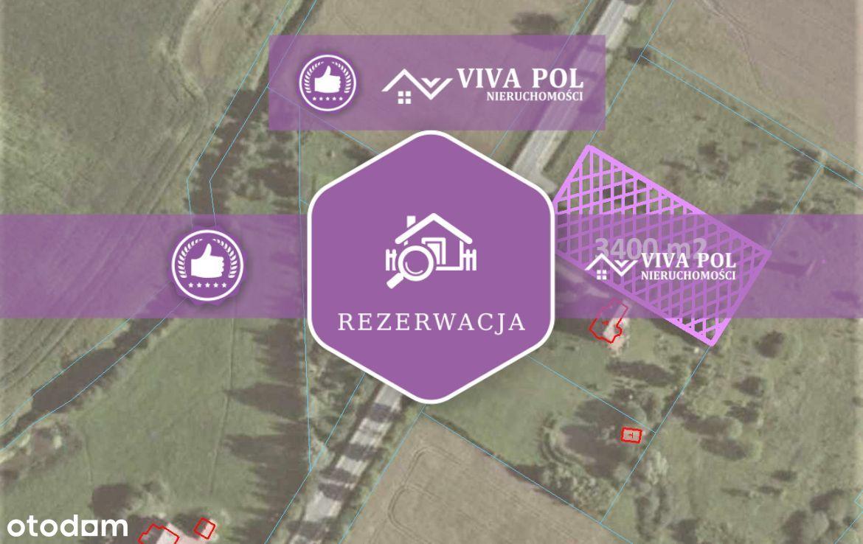 Działka na trasie Mrągowo – Kętrzyn / Wilkowo
