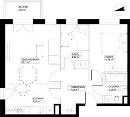 Mieszkanie A76 Harmonia+ Karpia 27