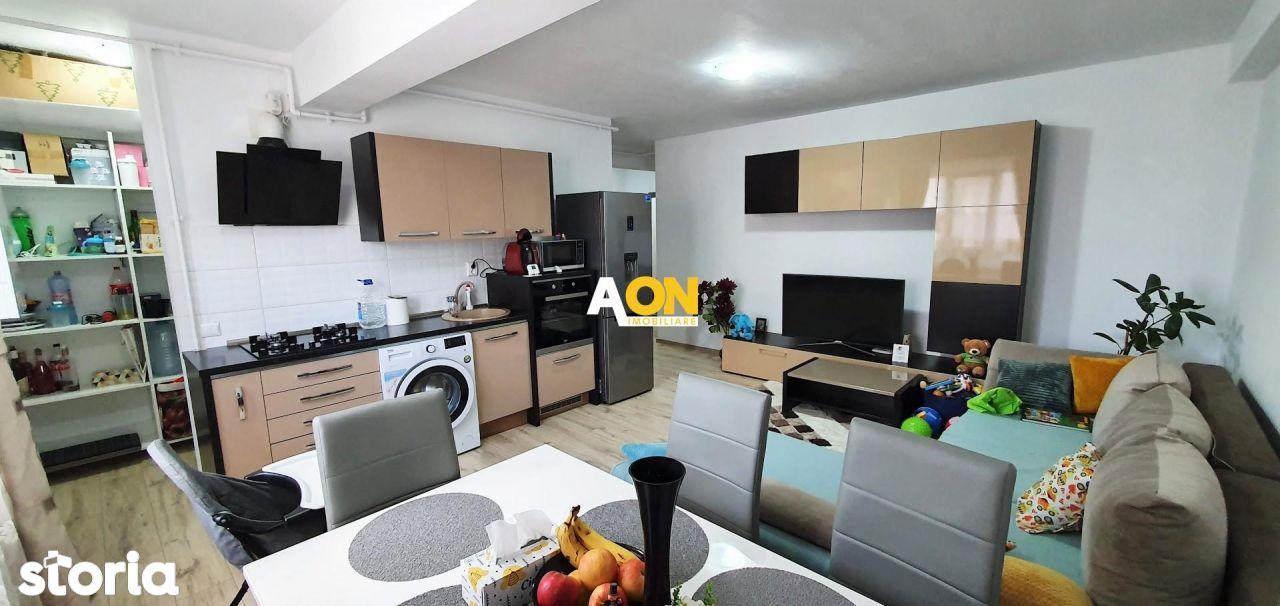 Apartament 3 camere, etaj 3, mobilat, utilat, Ampoi 3, bloc nou