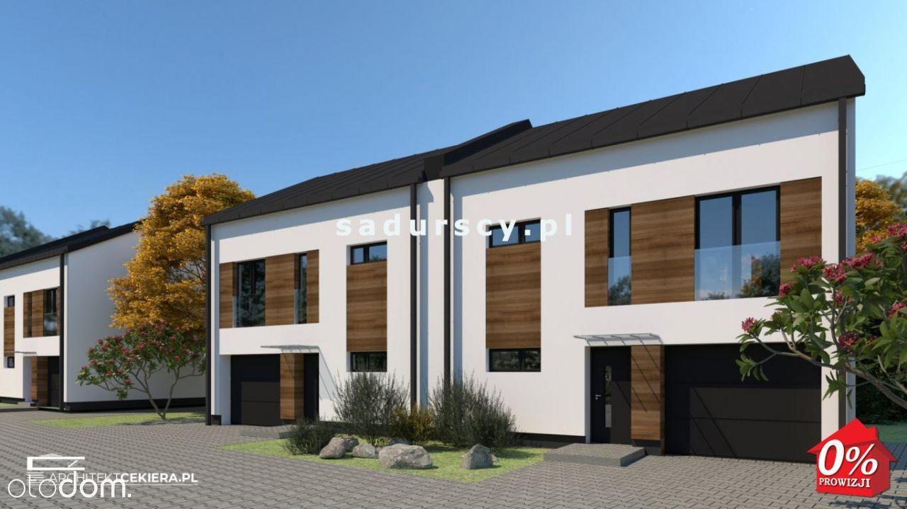 Grębałów - nowe domy w zab. bliźniaczej