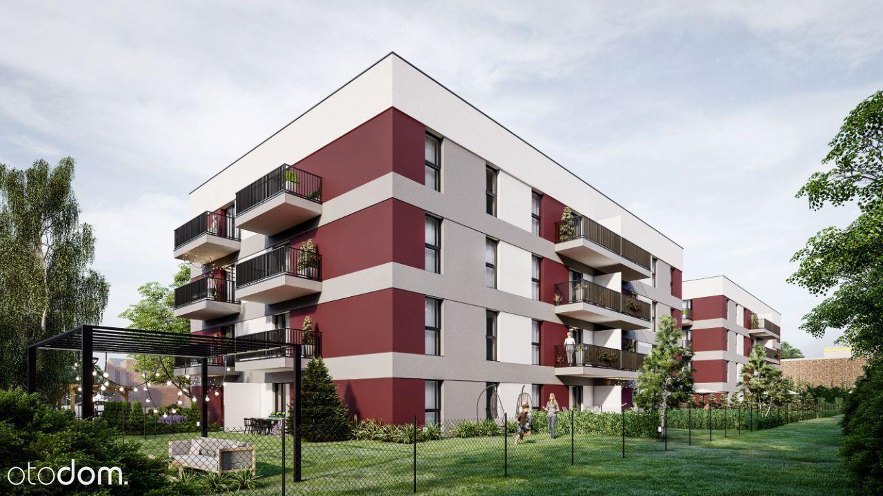 Nowe osiedle w centrum Browary Brzeskie 62,62 m2