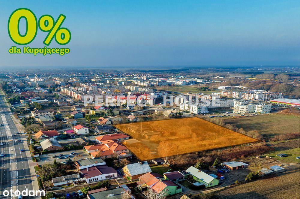 Działka inwestycyjna o pow. 8931 m2 w Koninie