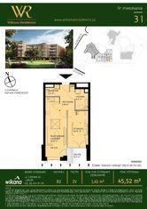 Wikana Residence - Mieszkanie nr B2.31