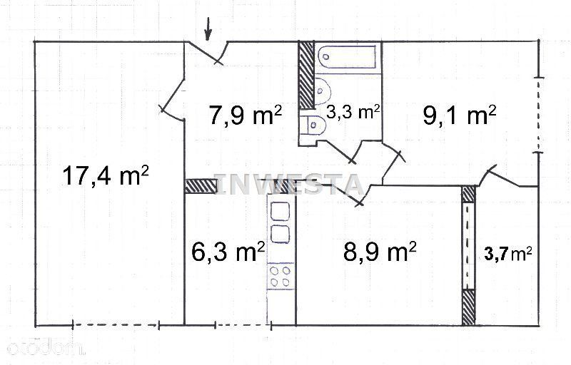 Targówek Mieszkaniowy 3 Pok 53M Loggia Warto