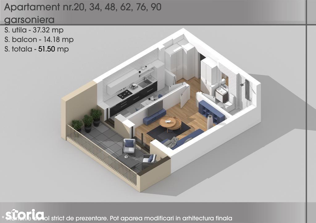Apartament 2 camere Theodor Pallady-Metrou 1 Dec 1918 Sector 3