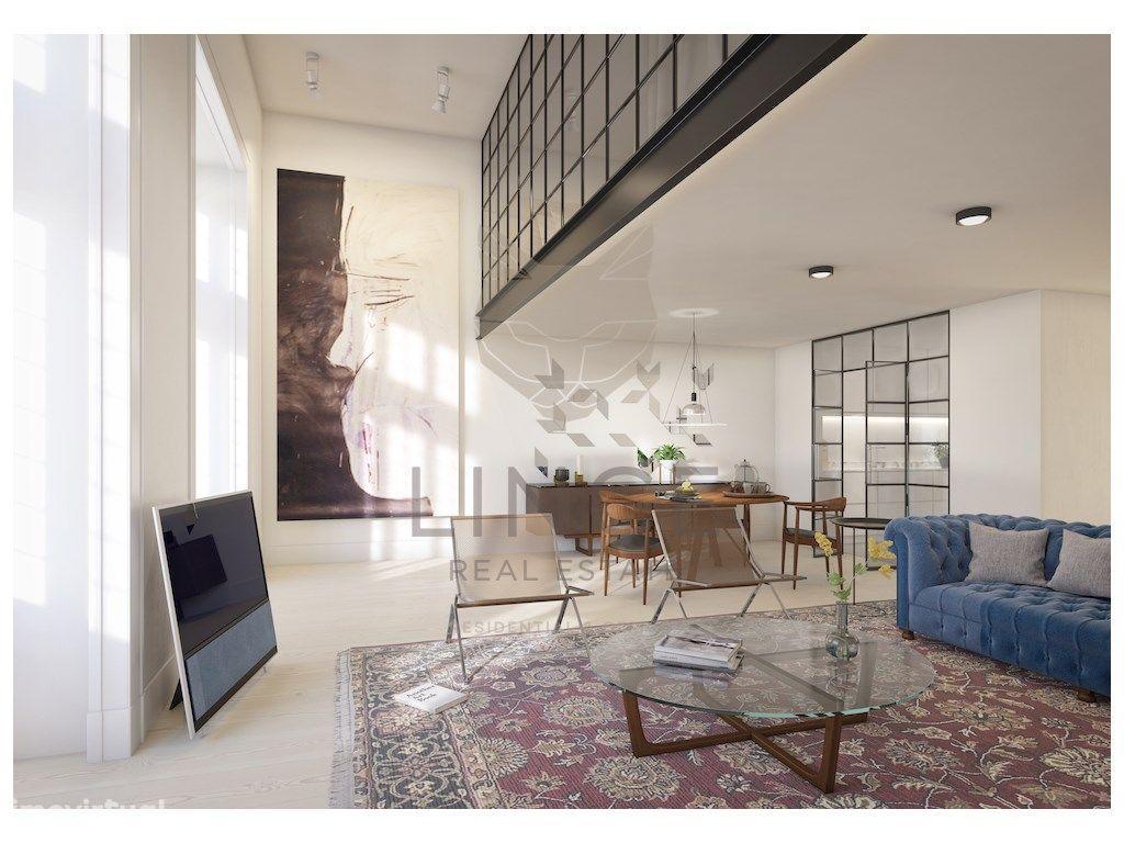 Fantástico T1+1 duplex no edifício ODEON