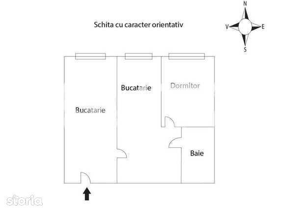 Apartament 2 camere, 35 m2, zona strazii Mehedinti