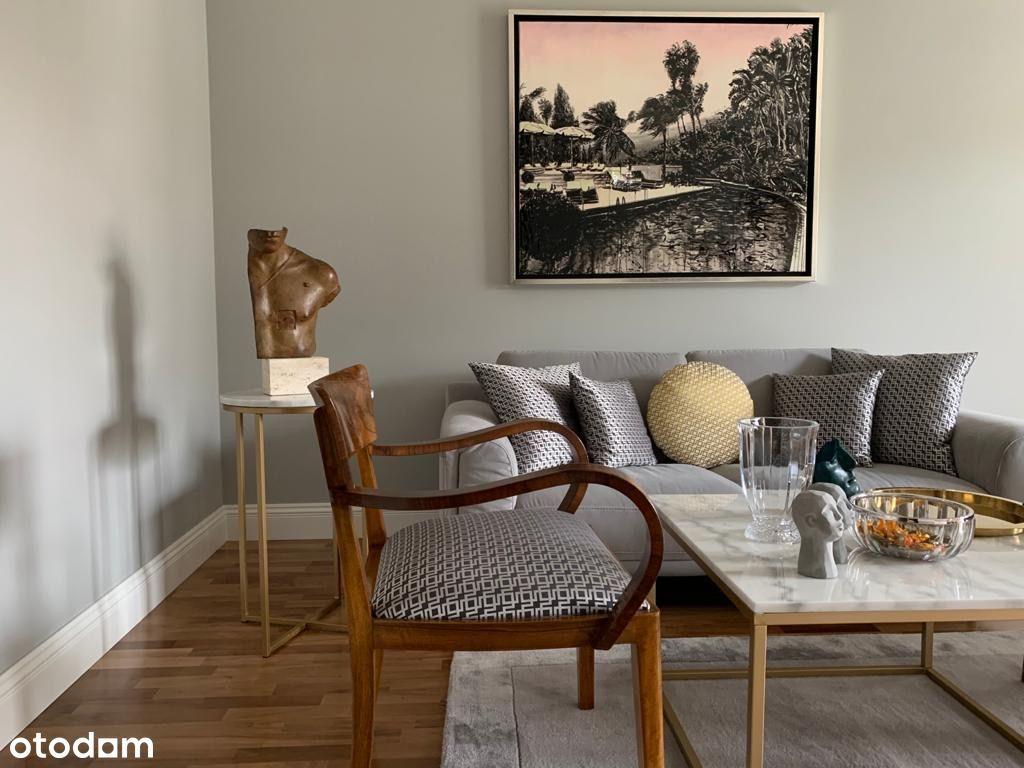 Saska Kępa luksusowy apartament w stylu Art Deco