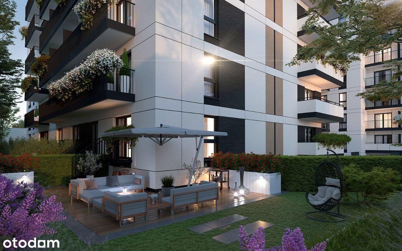 Apartament z własnym ogródkiem w centrum miasta