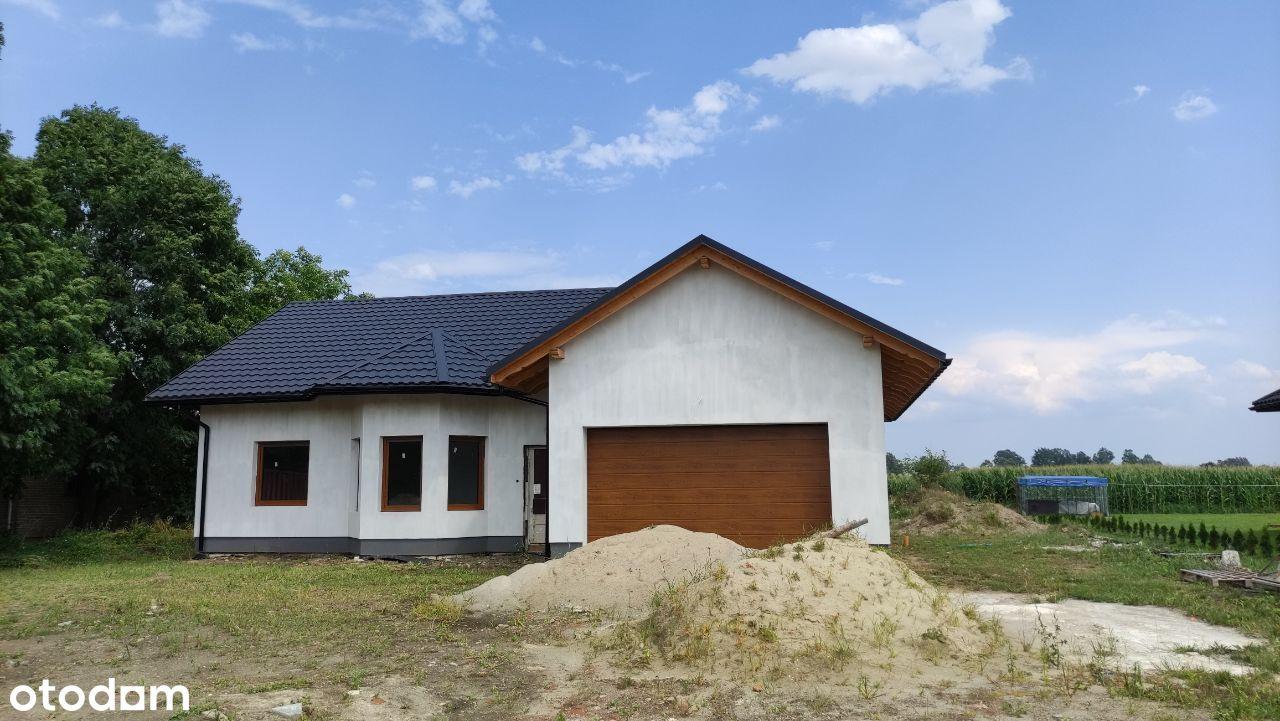 BIAŁOBRZEGI nowy dom parterowy