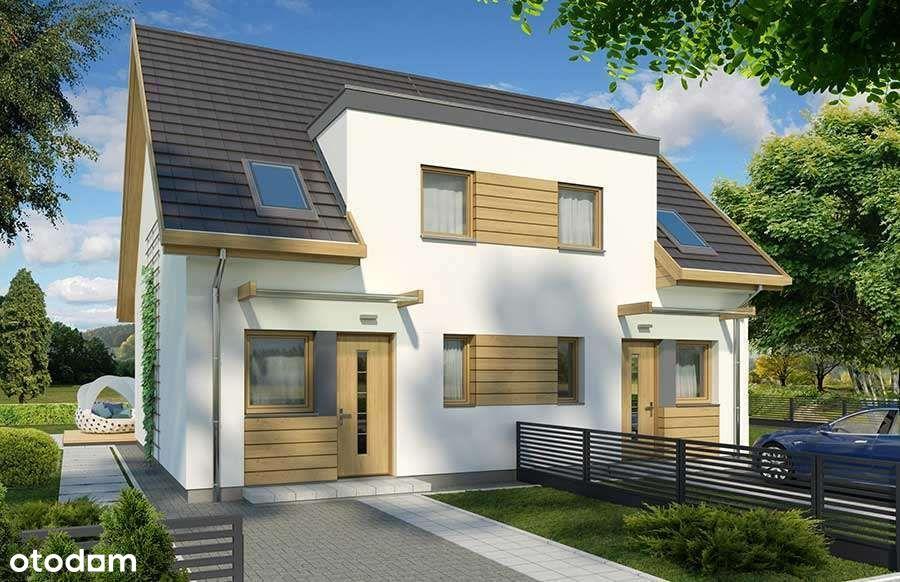 Dom- Nowe Mieszkanie 77,5m2+ogródek-Działka 430m2