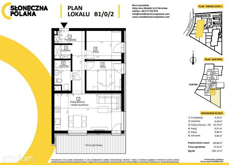 NOWE mieszkanie/ OGRÓD/ garaż podziemny/ PARK