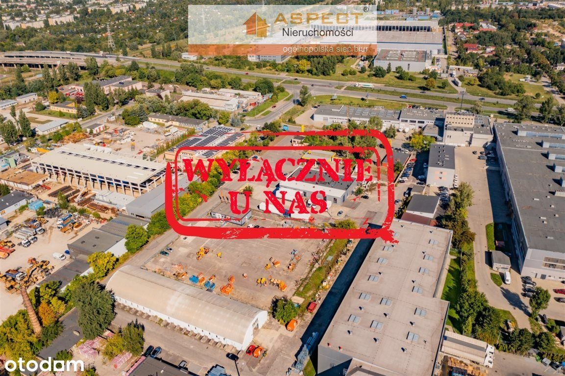 Działka, 2 700 m², Łódź