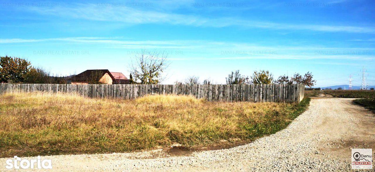 Teren constructii Sanpetru la limita cu Brasov