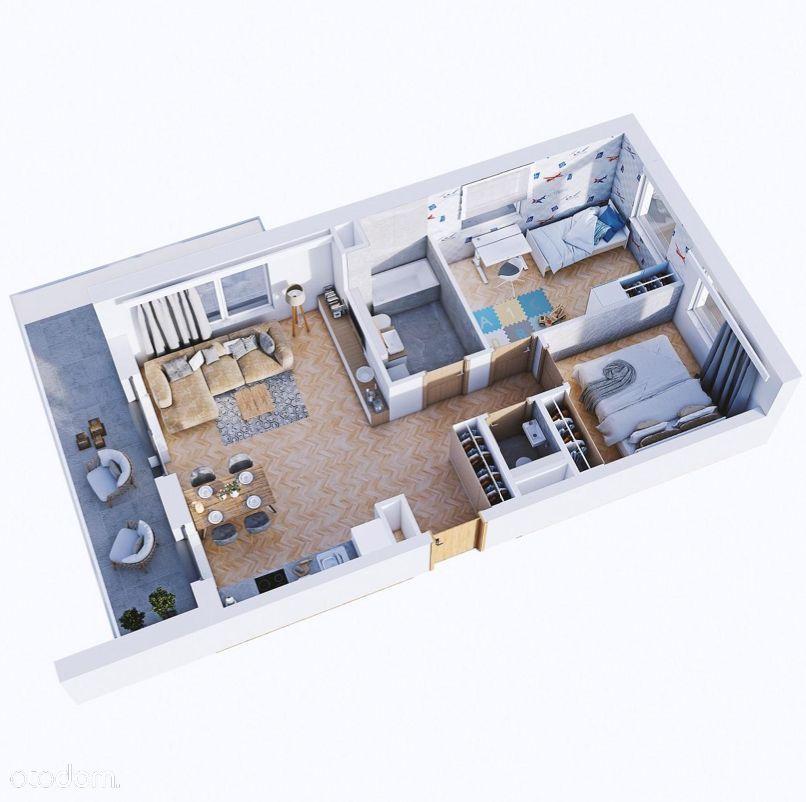 Żubrowej 13 - 3pokojowe mieszkanie z tarasem