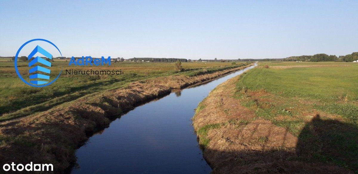 Działka rekreacyjna z dostępem do rzeki