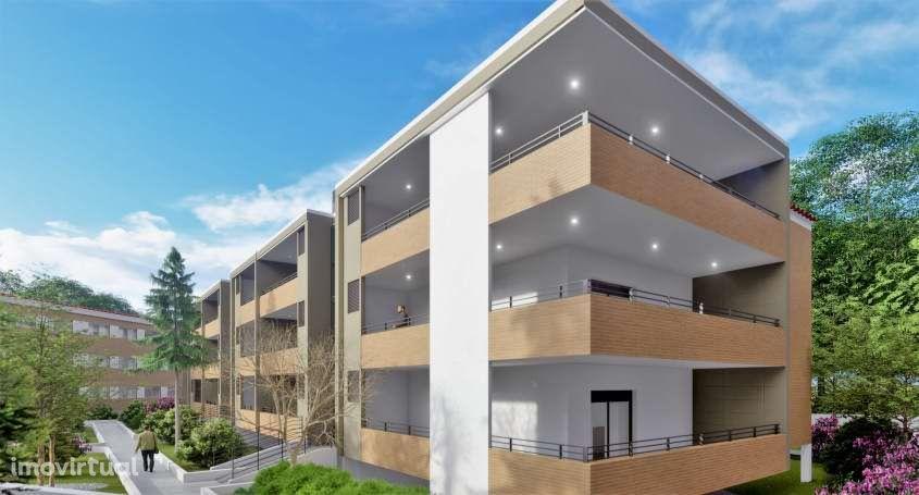 Apartamento T2 Novo em condomínio privado com piscina - Ofir