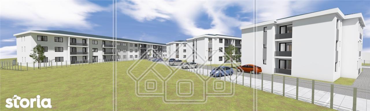 Apartament in ansamblu nou, zona buna, balcon, etaj 1\/2