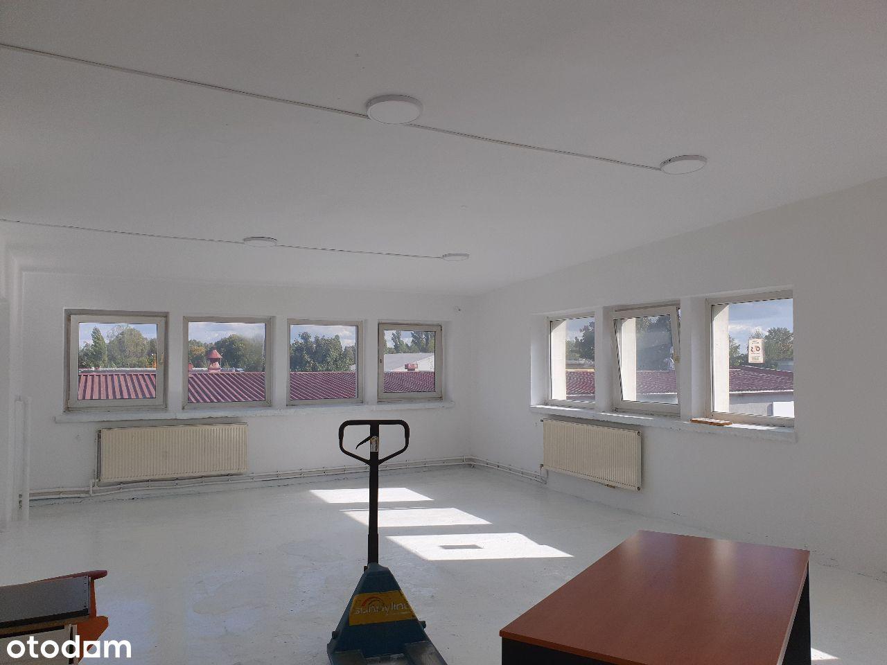 Grunwald ,ogrzewane 78 m2,magazyn-biuro