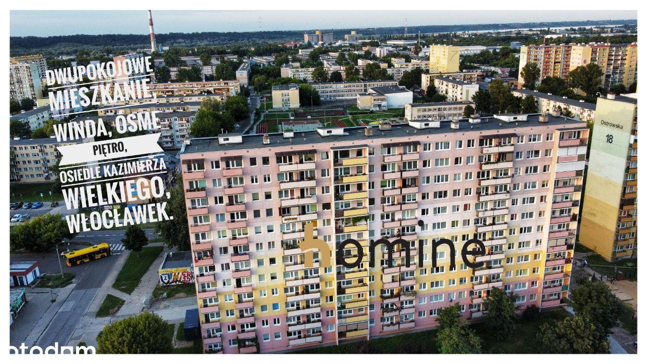 Dwupokojowe mieszkanie Włocławek ul. Ostrowska 16
