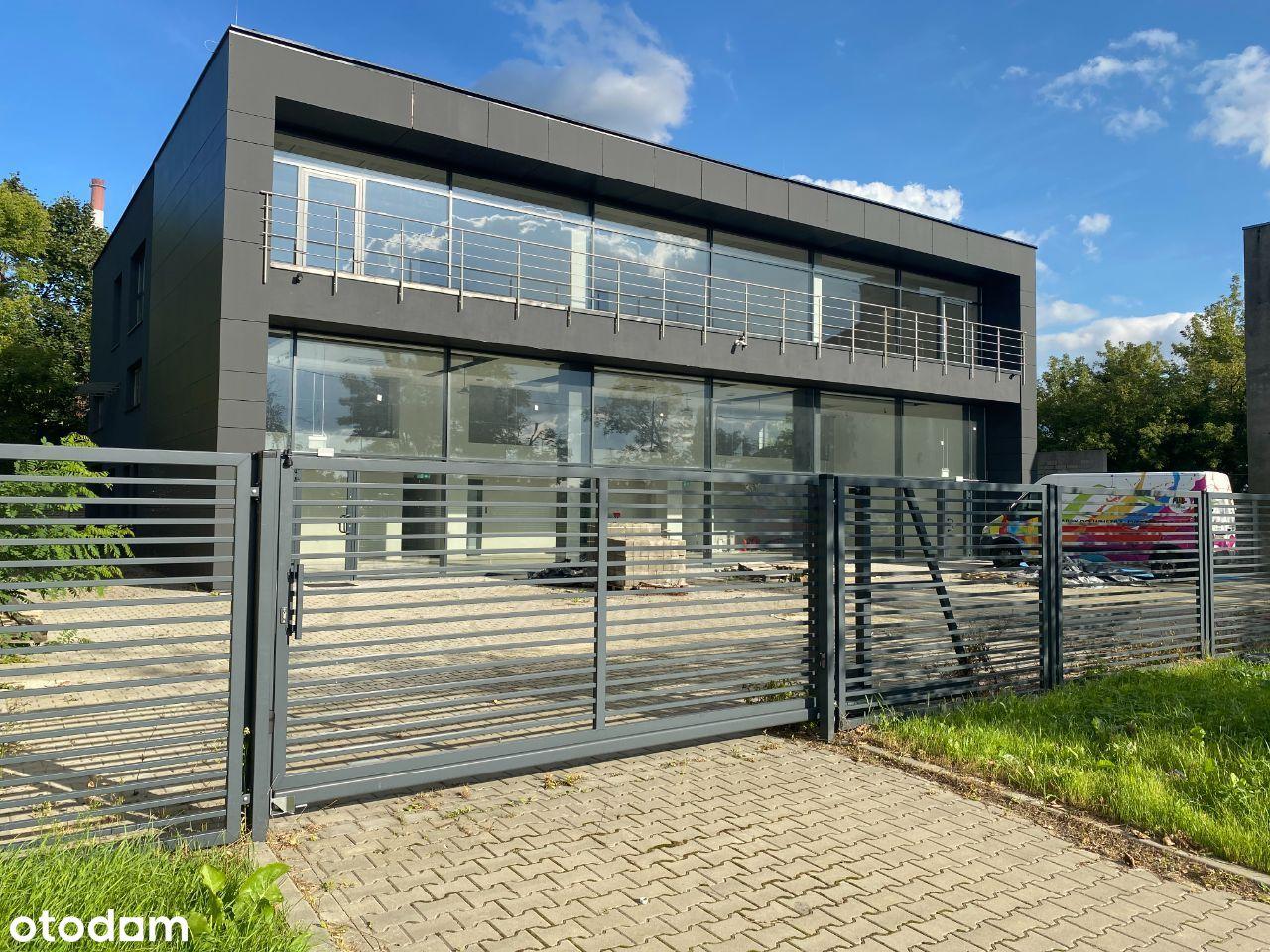 Nowy budynek biurowo-handlowo-magazynowy klasy A