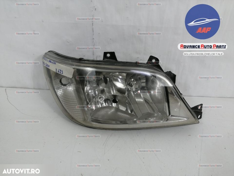 Far dreapta Mercedes Sprinter 1996-2000  cu halogen originala - 6
