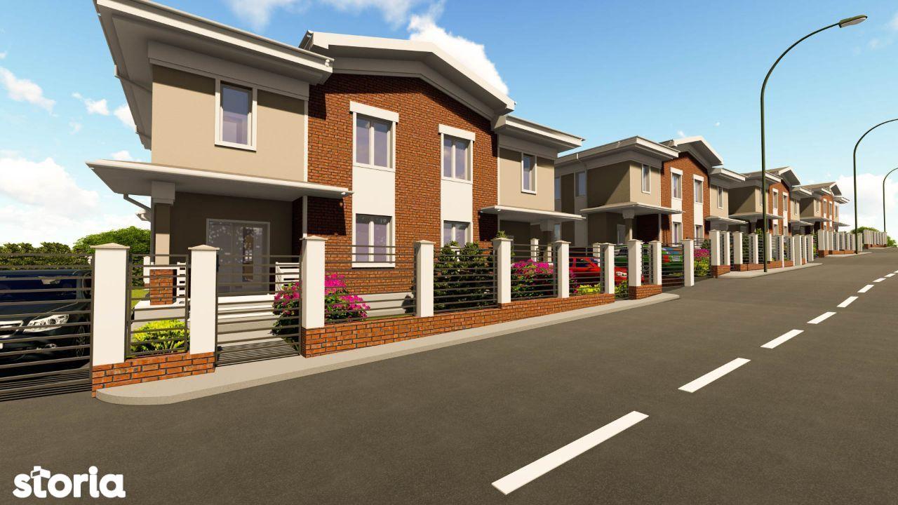 La Crama Residence - case 5 camere cu demisol și izolație fonica