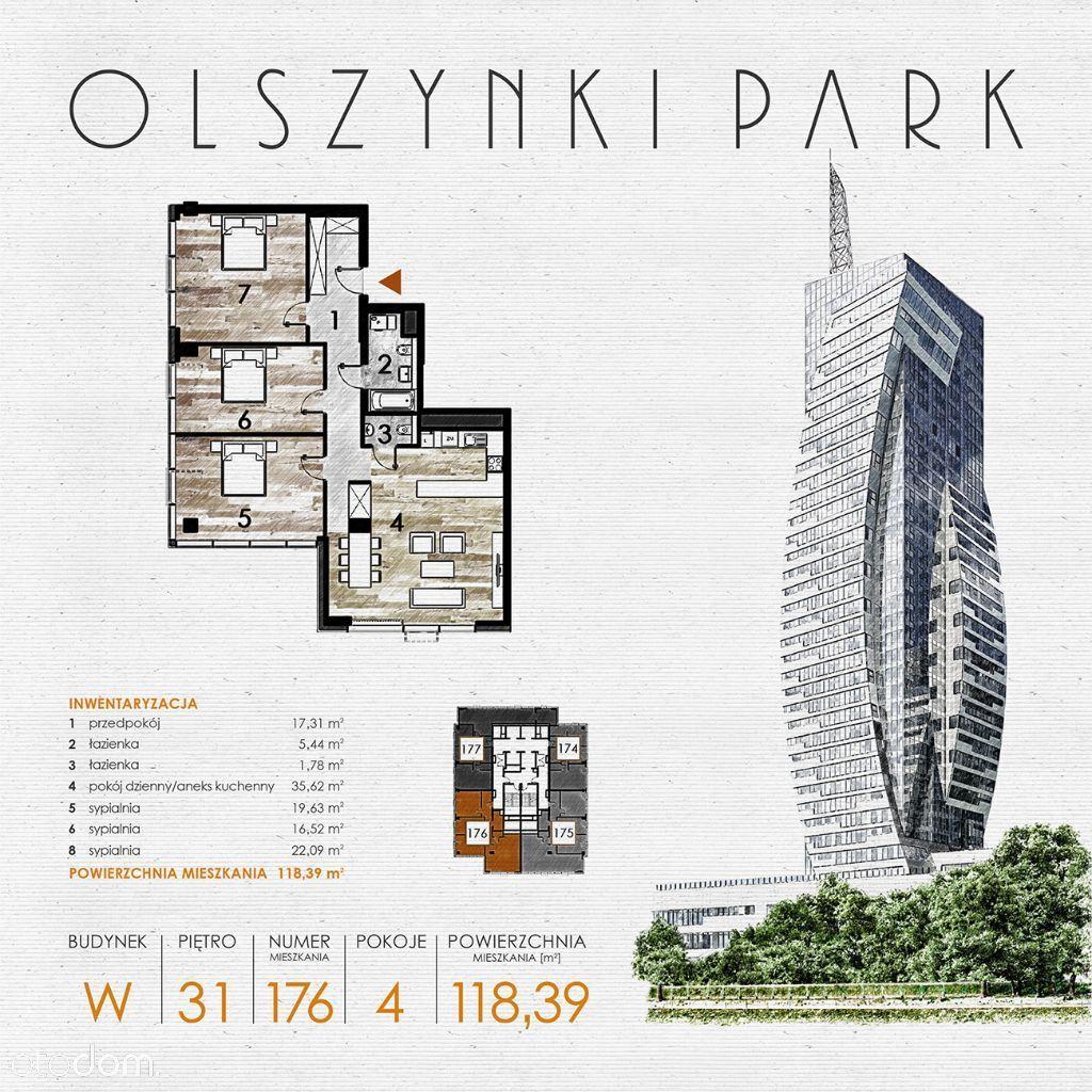 Olszynki Park - Apartament W176