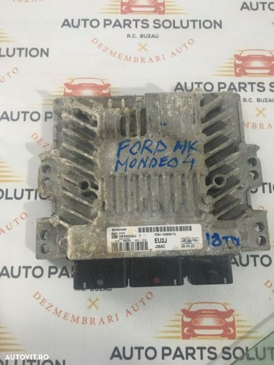calculator motor Ford Mondeo IV, 1.8 tdci,an fabr 2008 - 1