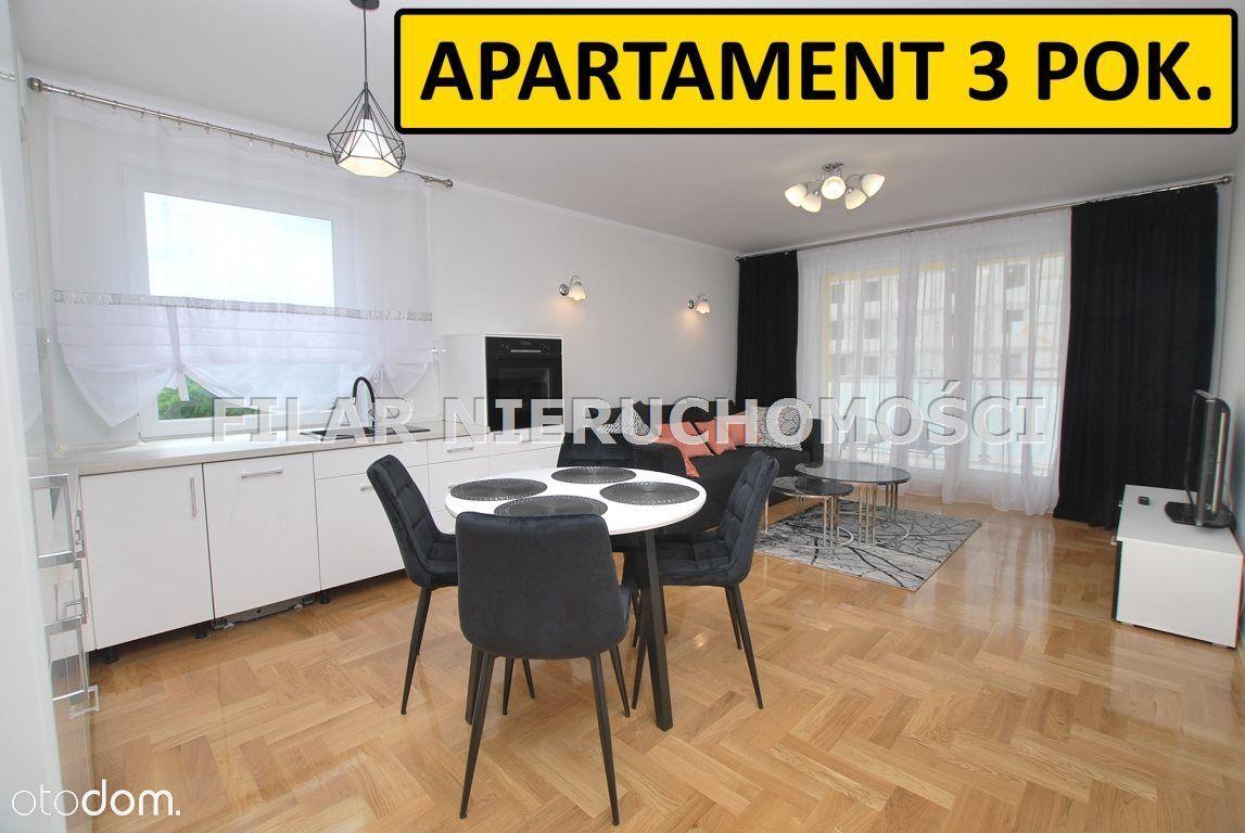 3 pokoje w Centrum