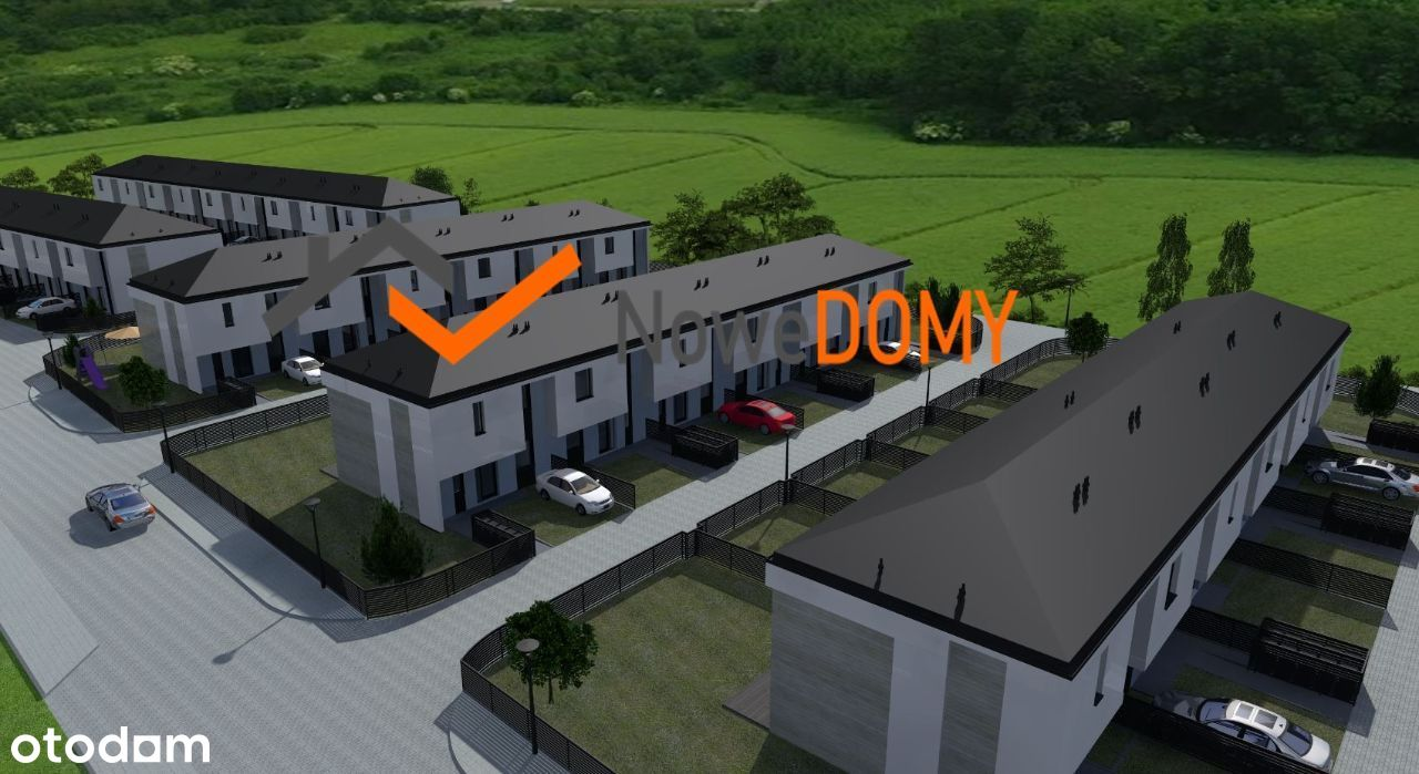 Nowoczesne domy 89 m2 na Gumieńcach