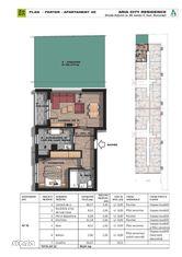 Apartament 2 camere cu gradina,decomandat ,88 mp, Brancoveanu adiacent