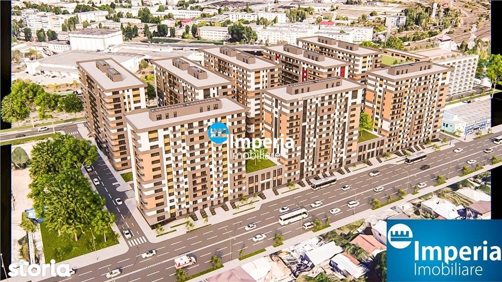 Spatii comerciale in proiect imobiliar cu peste 1000 de apartamente